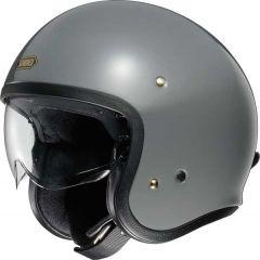Shoei J.O. Open Face Helmet Rat  Grey